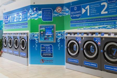 franchise bluwash ouvrir une laverie automatique france