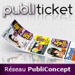Franchise PUBLI TICKET (Réseau PubliConcept)