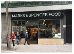 Marks And Spencer Food Magasins Paris