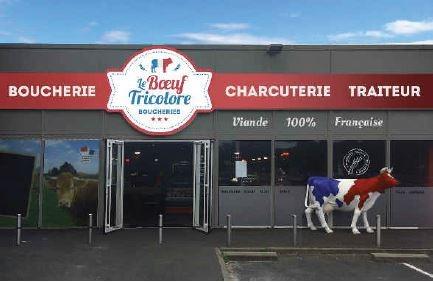 Enseigne Boucherie un an de développement en franchise pour le boeuf tricolore