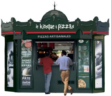 la franchise le kiosque pizzas pr sente son nouveau concept et r v le ses objectifs france. Black Bedroom Furniture Sets. Home Design Ideas
