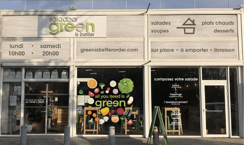 La franchise Green is better prévoit l'ouverture de 20 saladbars en 2021