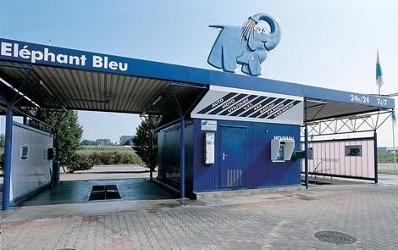 Le réseau de franchise Eléphant Bleu ouvre son premier tunnel de lavage