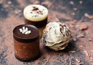 Glace, Chocolat, confiserie