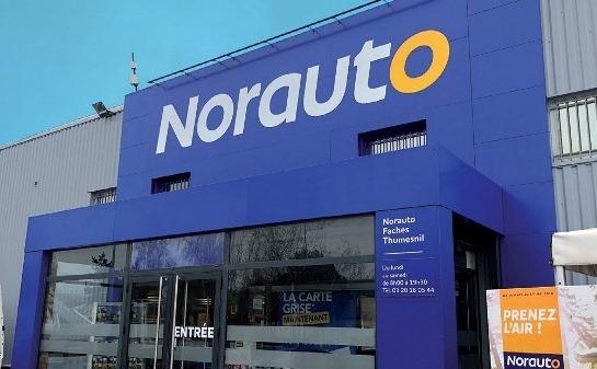 Extérieur centre auto Norauto