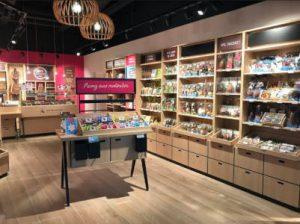Intérieur boutique de Neuville