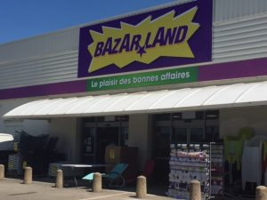 Bazarland veutaccueillir ses clients sur toute la France