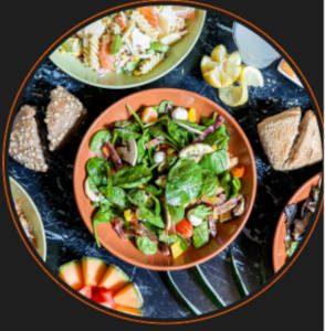 Plat Eat Salade