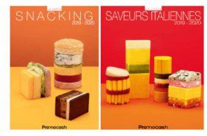 visuels Promocash Carte Snacking et Carte Saveurs italiennes