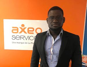 Mohamed Diaby, nouveau franchisé aux commandes de l'agence AXEO Services Herblay