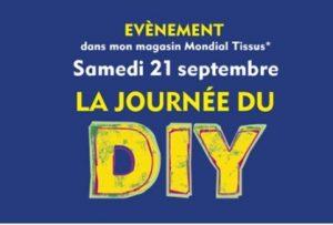 Journée du DIY - Franchise Mondial Tissus