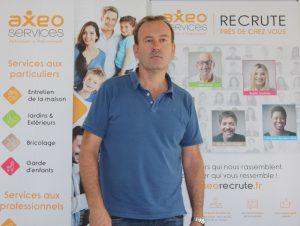 Patrick Gorecki, franchisé AXEO Services à Mandelieu la Napoule