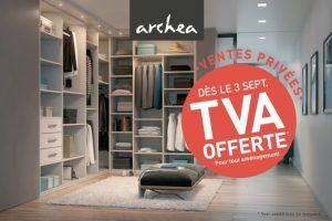TVA offerte chez Archea