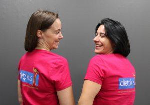 Constance Charavay et Cindy Nardi, deux franchisées Dietplus, Trophée Roses des sables
