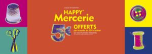 Happy Mercerie, Franchise Mondial Tissus