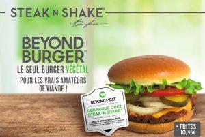 Burger Beyond Meat® - Steak'n Shake