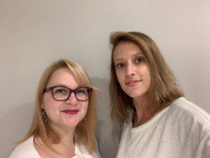 Emeline Bouzats et Emeline Gazzini, franchisées centre L'Onglerie Gradignan