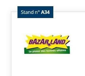 Bazarland vous attend au Forum Franchise de Lyon
