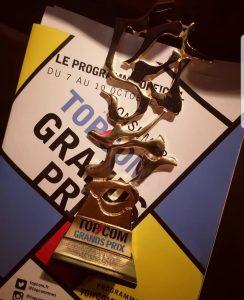de Neuville remporte l'Or du Grand Prix Topcom Consumer 2019