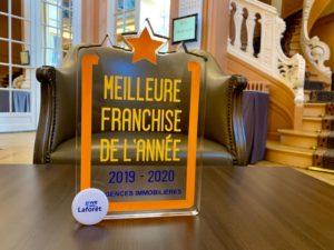 Laforêt « Meilleure Franchise 2019 – 2020 »