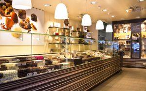 Intérieur boutique Leonidas