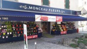 Magasin Monceau Fleurs La Roche sur Yon