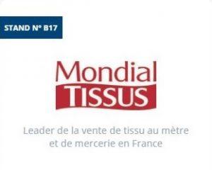 Mondial Tissus au Forum Franchise de Lyon