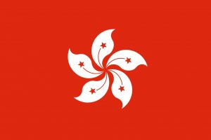 Hong-Kong drapeau