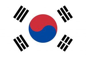 La Corée du Sud drapeau