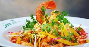 Salade Thaï, Poulet ou Gambas - Garden Ice Café
