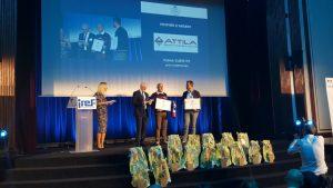 Le franchisé ATTILA Système de Périgueux remporte le Trophée d'Argent