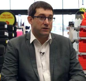 Denis Larquier, Président de l'enseigne Roady
