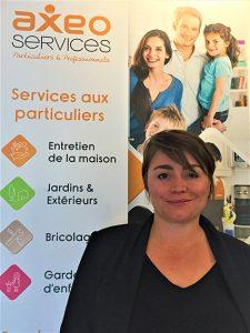 Emilie Blanché, franchisée AXEO Services de Chambly