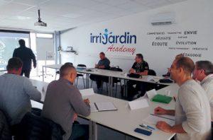 La formation au cœur du concept Irrijardin