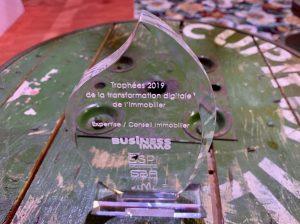 Trophées de la transformation digitale de l'immobilier Laforêt, catégorie expertise / conseil immobilier