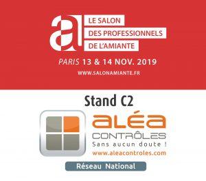 Diagamter : Aléa Contrôles au Salon des Professionnels de l'Amiante