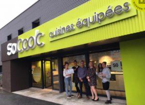 Sandrine et David Le Marec franchisés SoCoo'c à BasseGoulaine, près de Nantes