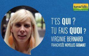 Virginie Bernard, franchisée Bureau Vallée à Noyelles-Godault