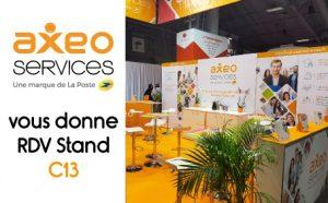 AXEO Services au Salon des Services à la Personne et de l'Emploi