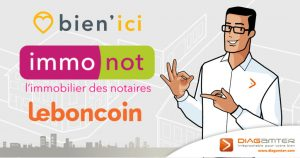 Franchise Diagamter sur les sites Bien'Ici, Le Bon Coin et Immonot
