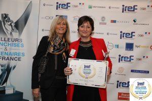 La franchisée Dietplus de Carbon-Blanc, Catherine Guezennec, lauréate au concours de l'IREF