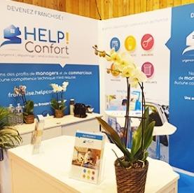 Franchise HELP Confort au salon des services à la personne