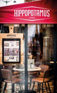 Facade du restaurant Hippopotamus