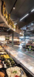 Intérieur magasin Intermarché