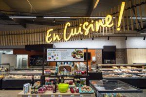 La franchise Intermarché : la zone Cuisine