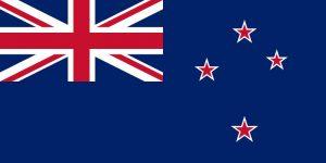 La nouvelle Zélande drapeau