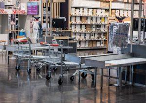 intérieur magasin Promocash 100% compact