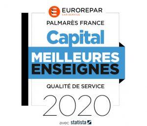 Eurorepar Car Service en 1ère position du palmarès