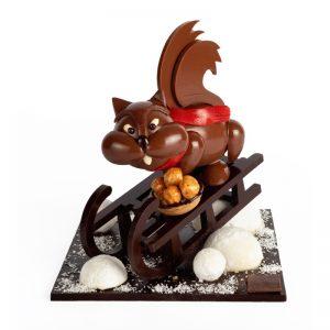 Collection Noël Yves Thuriès - L'écureuil roi de la glisse