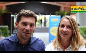 Sophie et Yvan Goujon, franchisés Bureau Vallée à Saintes et Cognac
